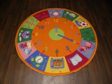 133X133CM CIRCLE TIME RUG/MATS HOMES/SCHOOLS EDUCATIONAL NON SILP BEST SELLERS